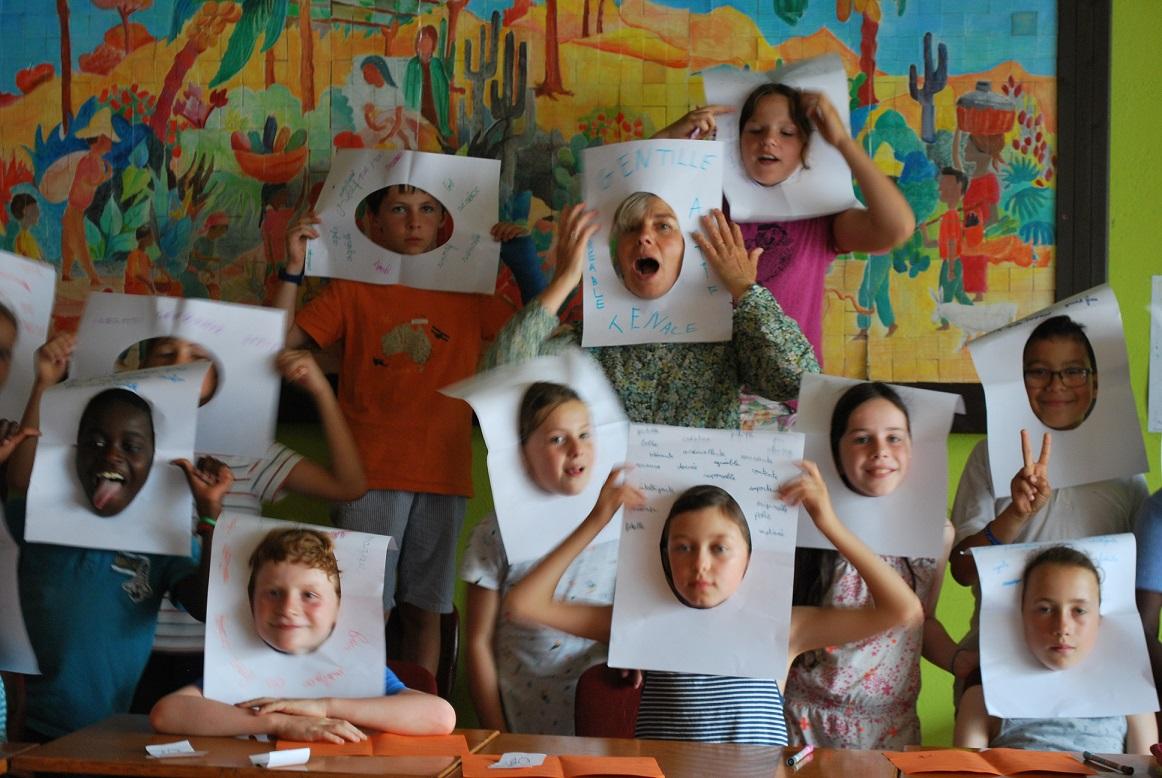 Photo des enfants de la catéchèse primaire