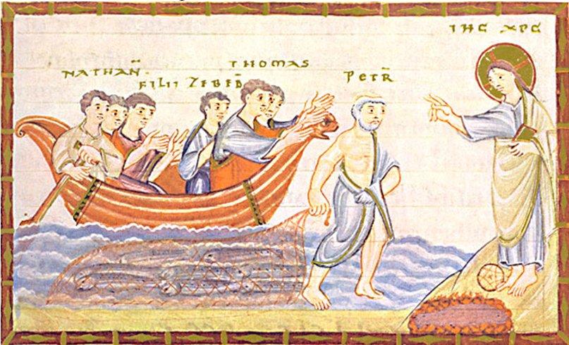 Jésus et la pêche miraculeuse