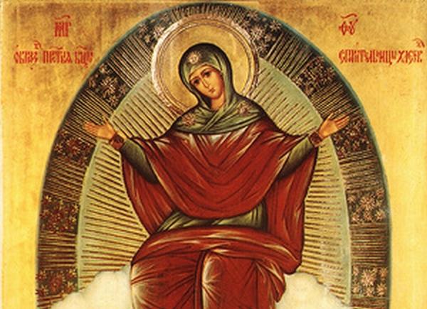Icône de l'Assomption de Marie