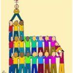 Eglise construite avec des Pierres Vivantes