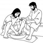 lavement des pieds - jeudi saint